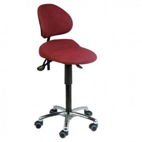 Assis debout Aure avec assise inclinable et dossier, pour espaces restreints