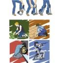 Travail à genoux et mobile « ERGOSIEGE »